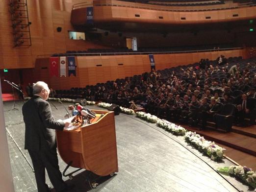 Bursa valisi şahabettin harput ile bursa belediye başkanı recep
