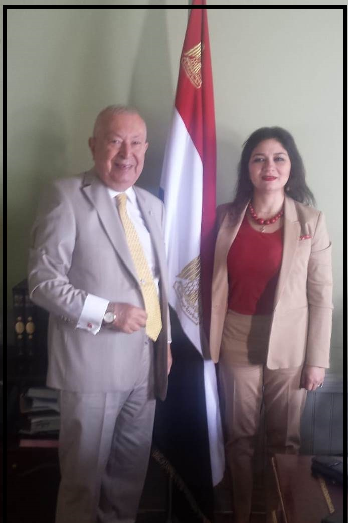 Former Consul General of Egypt Nermeen Afifi Metwally p